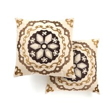 Thea Linen / Cotton Decorative Pillow (Set of 2)