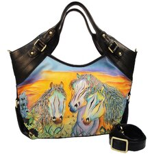 Shopper Shouder Bag in Wild Mustang
