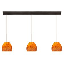 Bolla 3 Light Mini Pendant