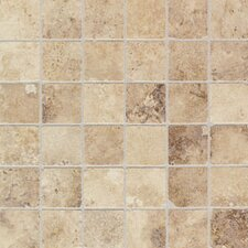 "Natural Monticino 13"" x 13"" Mosaic Tile in Blend"