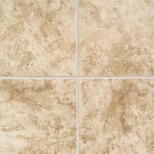 "Ristano 18"" x 18"" Floor Tile in Noce"