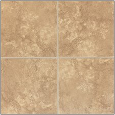 "Caridosa 13"" x 13"" Floor Tile in Noce"