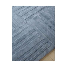 Shortwool Muddle Pewter Design Rug