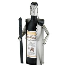 Downhill Skier Wine Bottle Buddy
