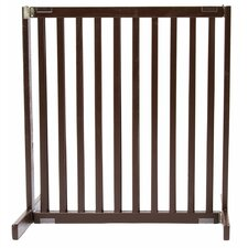 "30"" Small Kensington Pet Gate in Mahogany"