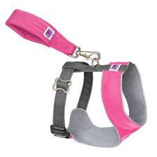 Mutt Gear™ Dog Comfort Harness in Pink and Gray