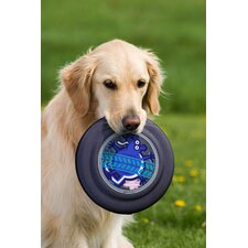 Flying Discs Skunk Dog Toy in Gray