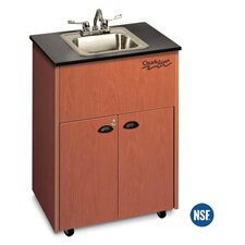 "Premier 26"" x 18"" 1 Portable Hand-Washing Station with Storage Cabinet"