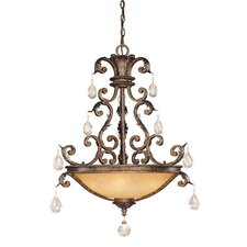 Chastain 5 Light Inverted Pendant