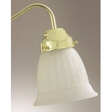 "4.75"" x 5.37"" Ceiling Fan Light Glass Shade in White"