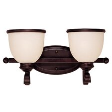 Willoughby 2 Light Vanity Light
