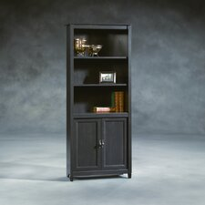 Edge Water Library Bookcase in Estate Black