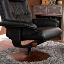 Alfred Ergonomic Recliner and Ottoman