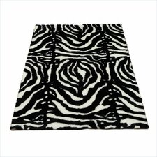 Animal Zebra Black Spine Rug