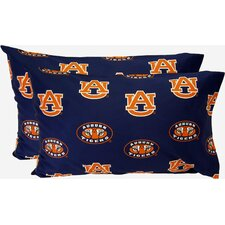 Auburn Tigers King Pillow Case Set