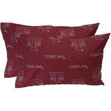 Texas A&M Aggies Pillow Case Set