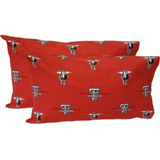 Texas Tech Red Raiders Pillow Case Set