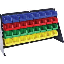 Large Bench Rack with Bins (Complete Package)