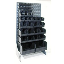 Conductive Single Sided Louvered Rack