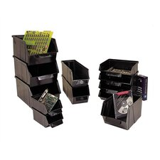 "Conductive Stack and Lock Bin (5 1/8"" H x 5 7/8"" W x 10 1/4"" D)"