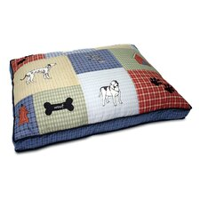 Cedar Dog Bed in Dog Days