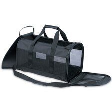 Soft Sided Kennel Cab Pet Carrier in Black