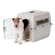 Vari-Kennel Portable Small Dog Crate in Tan