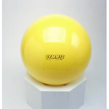"18"" Classic Gymnastics Ball in Yellow"