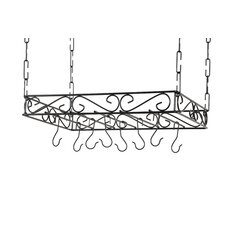 Metal Pot Rack