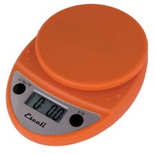 Primo Digital Scale in Pumpkin Orange