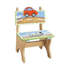 Transportation Time Out Kid's Desk Chair