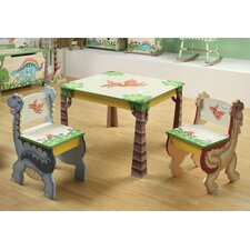 Dinosaur Kingdom Children's Desk Chairs (Set of 2)