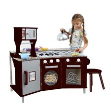 My Little Chef Deluxe Faux Granite Play Kitchen
