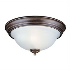 Canterbury 2 Light Flush Mount