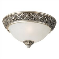 Highlands Close to 2 Light Ceiling Flush Mount