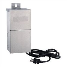 Ambiance Landscape 600w Dual Output Transformer in Brushed Stainless