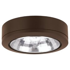 Ambiance Accent  Disk Light with Housing in Antique Bronze