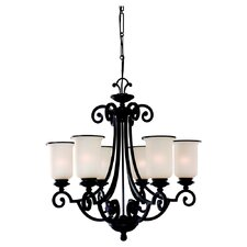Acadia 6 Light Chandelier