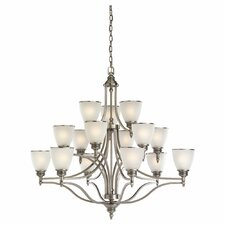 Laurel Leaf 15 Light Chandelier