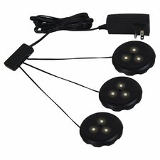 Ambiance LED 3 Puck Light Kit