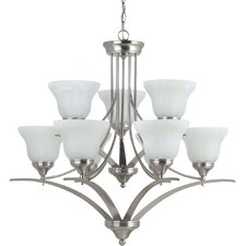 Brockton 9 Light Chandelier