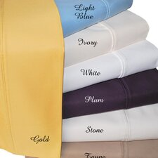 1000 Thread Count Solid Sheet Set