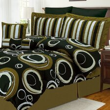 Luxor Treasures Torino 8 Piece King Bed in a Bag Set