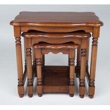 Victorian French 3 Piece Nest of Tables