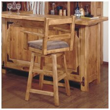 Lodge 100 Arm Swivel Barstool