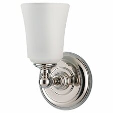 Huguenot Lake 1 Light Wall Sconce