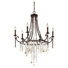 Cascade 6 Light Chandelier