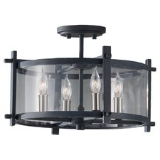 Ethan 4 Light Semi Flush Mount