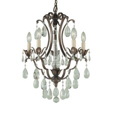 Maison De Ville 5 Light Mini Chandelier