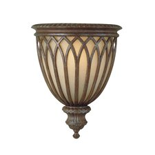 Stirling Castle 1 Light Webbed Half Wall Sconce Lamp